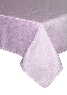 Bardwil Tulip Lilac Oblong Tablecloth