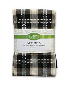 Bardwil 5-Pack Kitchen Towels