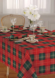Lenox® Holiday Nouveau Plaid Table Linens