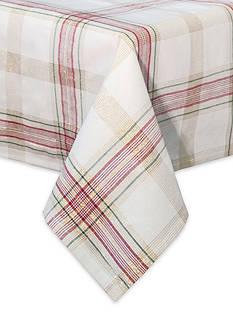 Lenox Holiday Nouveau Plaid Oblong Table Cloth