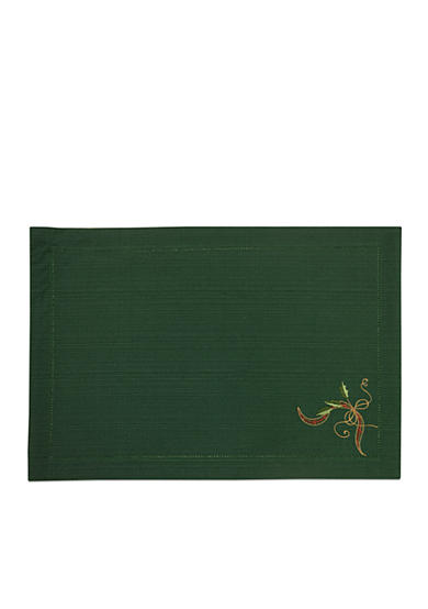 Lenox Hemstitch Embroidered Place Mat