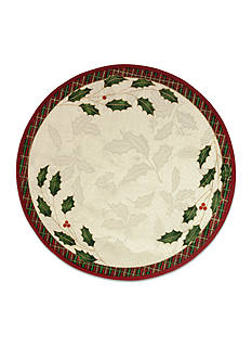 Lenox Holiday Nouveau Round Placemat