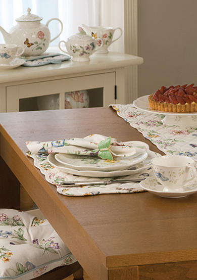 Lenox® Butterfly Meadow Quilted Table Linen Collection