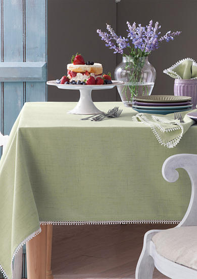 Lenox french perle pistachio table linens belk for Table 6 lenox