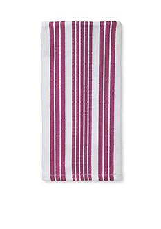 John Ritzenthaler Company Tech Style Herringbone Stripe Kitchen Towel
