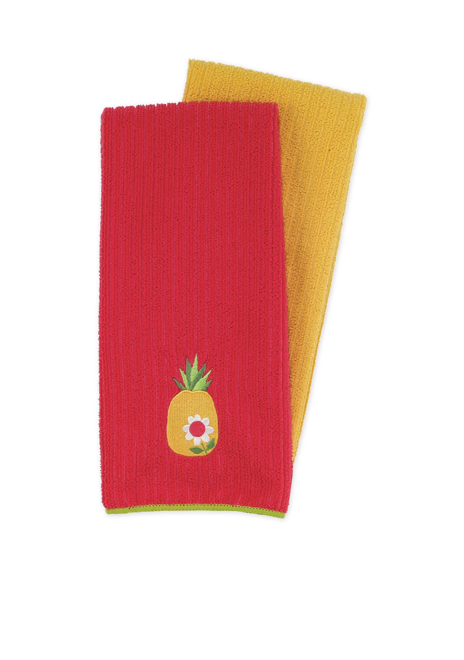 John Ritzenthaler Company® Pineapple Microfiber Kitchen Towel ...