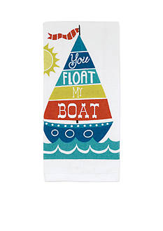 John Ritzenthaler Company Float My Boat Kitchen Towel