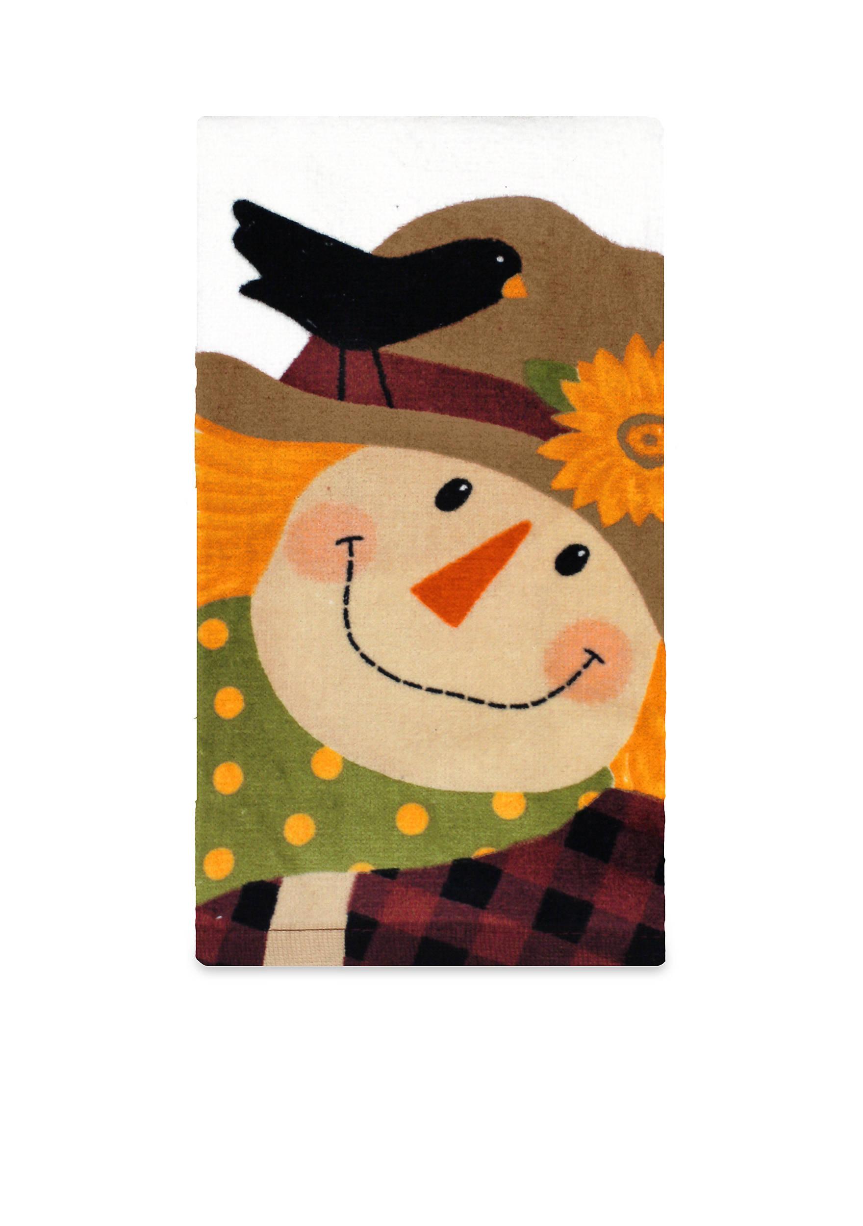 John Ritzenthaler Company® Fiber Reactive Scarecrow Kitchen Towel ...