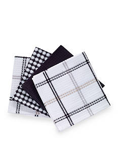 T-fal 4 Pack Waffle Weave Dish Cloths