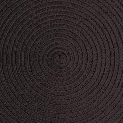 Discount Table Linens: Black John Ritzenthaler Company Round Woven Placemat Collection