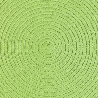 Table Linens and Placemats: Grass John Ritzenthaler Company Round Woven Placemat Collection