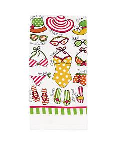 John Ritzenthaler Company Summer Suits Kitchen Towel