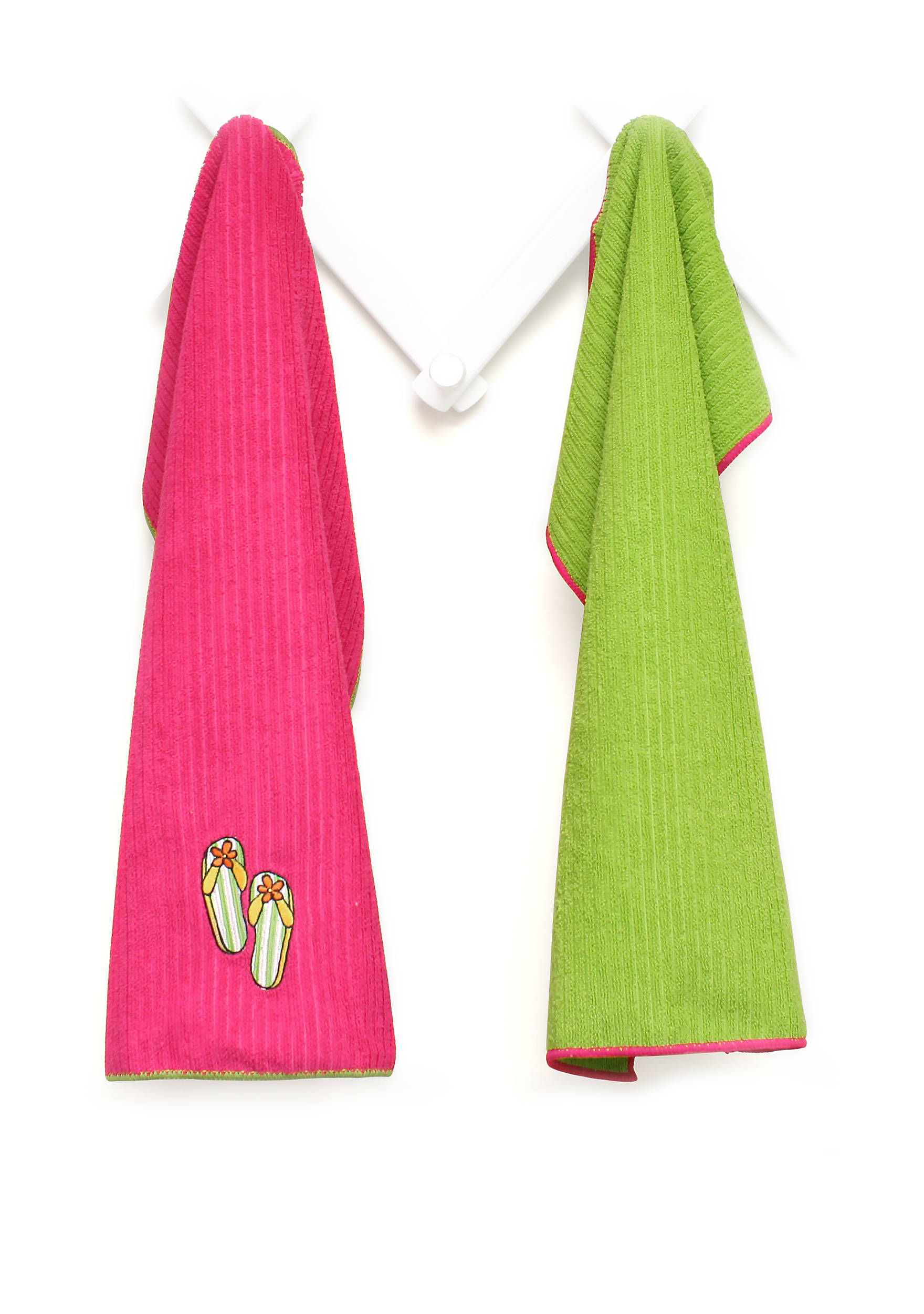John Ritzenthaler Company® Flip Flops Microfiber Kitchen Towel ...