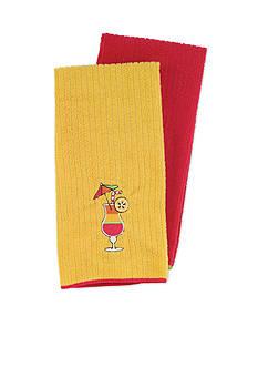 John Ritzenthaler Company Daiquiri Microfiber Kitchen Towel - Set Of 2