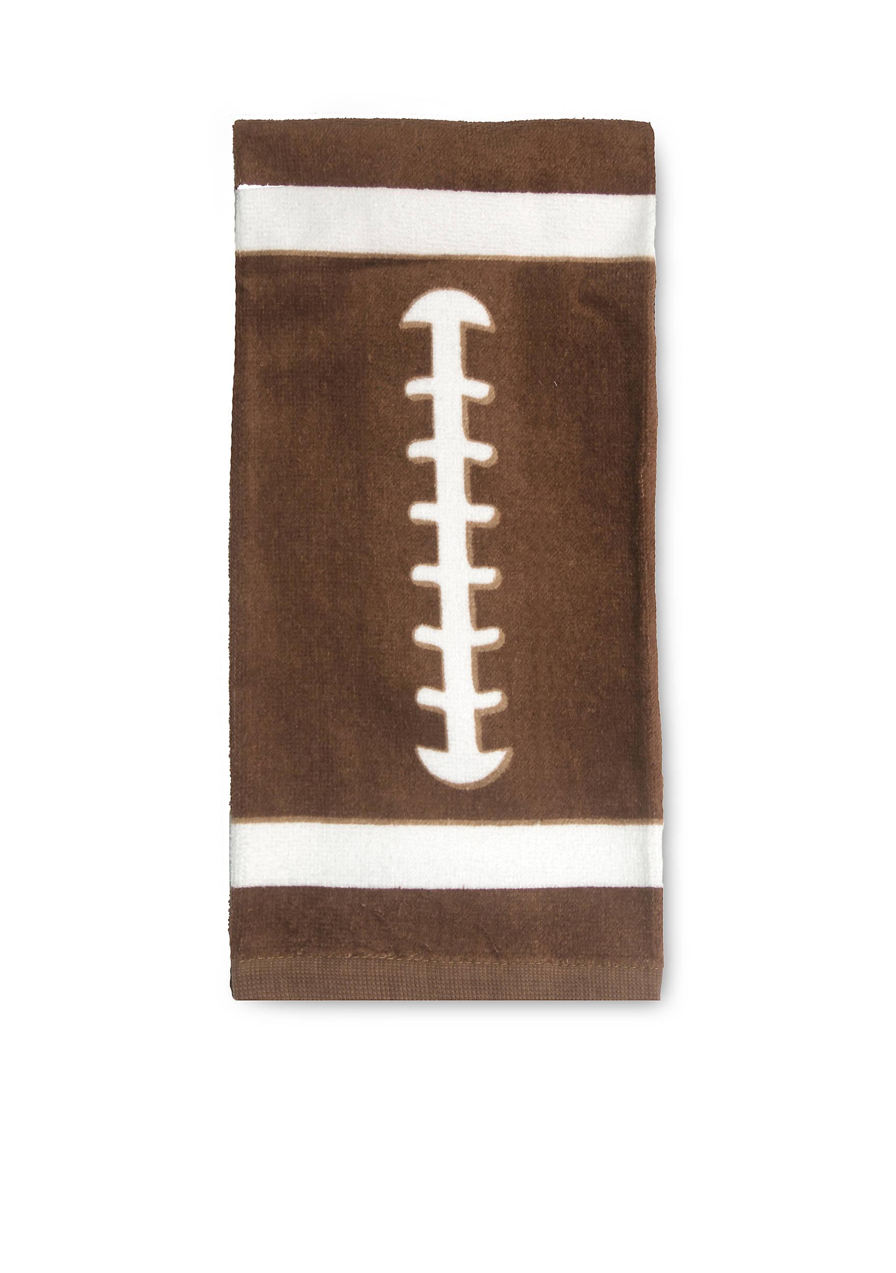 Tech Style Football Fiber Reactive Print Kitchen Towel | belk