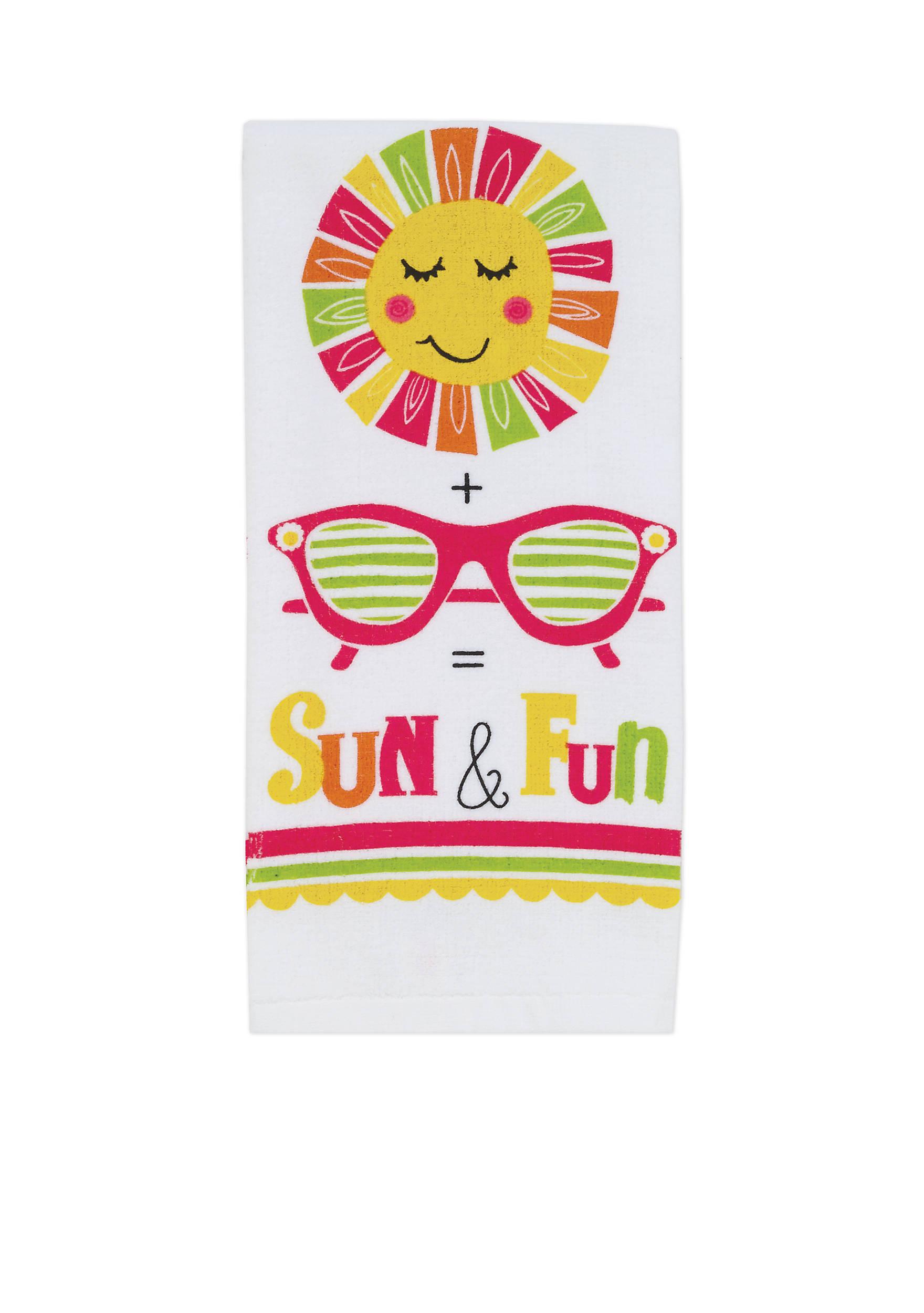 John Ritzenthaler Company® Sun & Fun Kitchen Towel | belk
