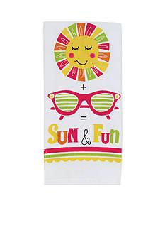 John Ritzenthaler Company Sun & Fun Kitchen Towel