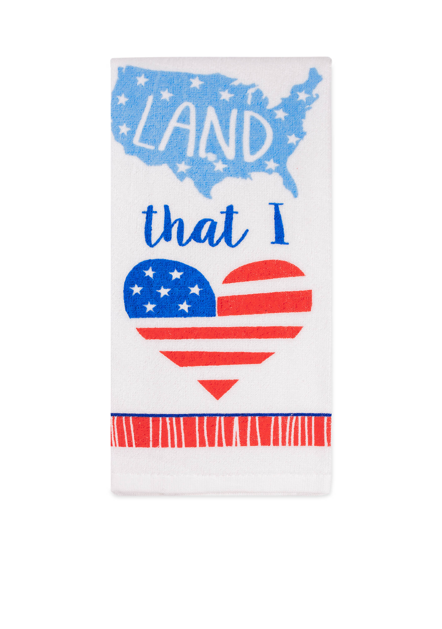 John Ritzenthaler Company® Land That I Love Kitchen Towel | belk