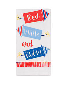 John Ritzenthaler Company Red White and Boom Kitchen Towel