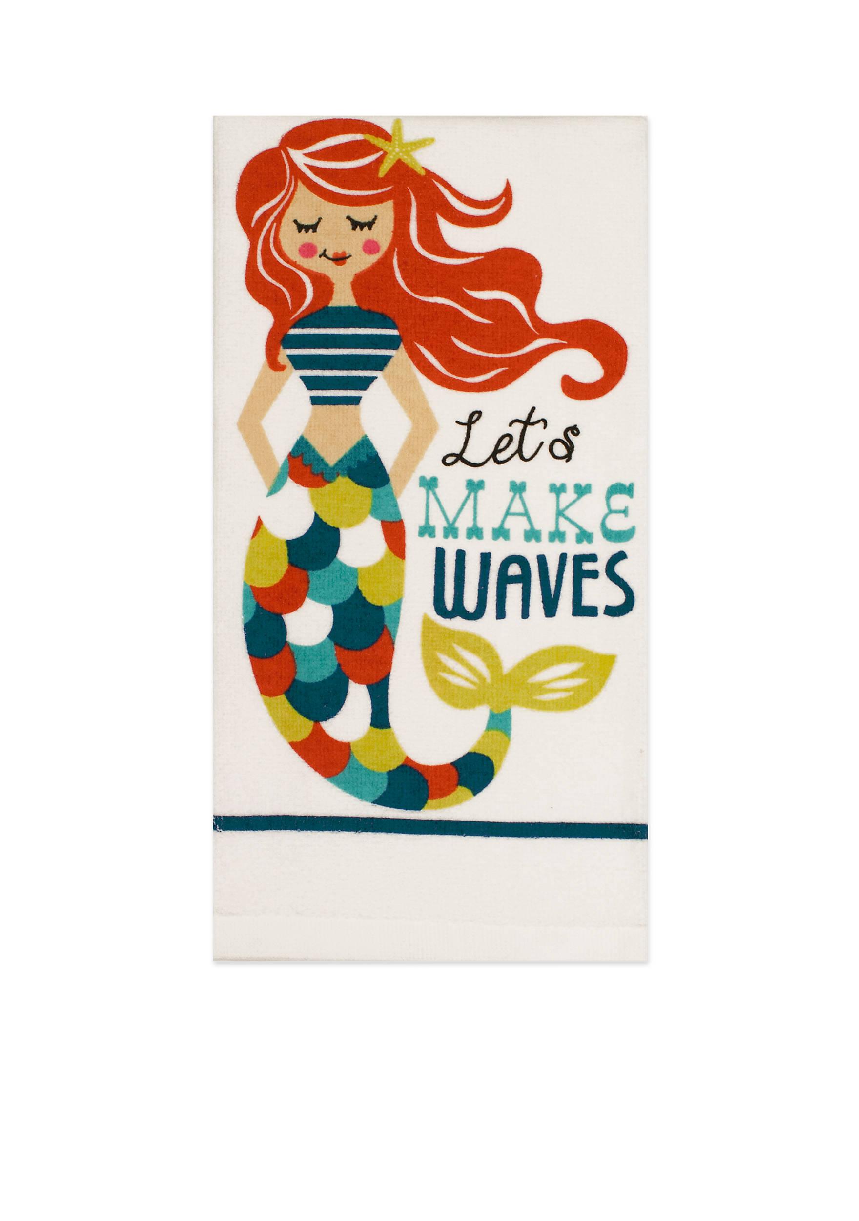 John Ritzenthaler Company® Make Waves Mermaid Kitchen Towel | belk