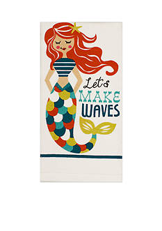 John Ritzenthaler Company Make Waves Mermaid Kitchen Towel