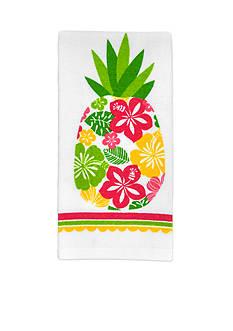 John Ritzenthaler Company Hibiscus Pineappple Kitchen Towel
