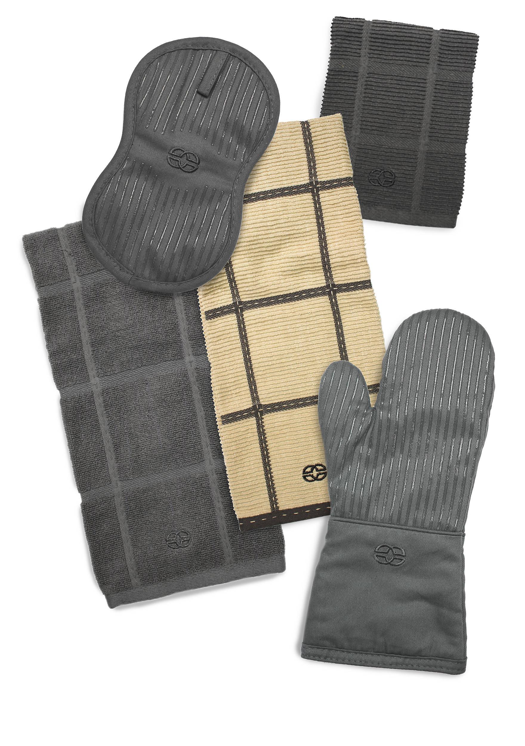 Graphite Kitchen Towels | belk