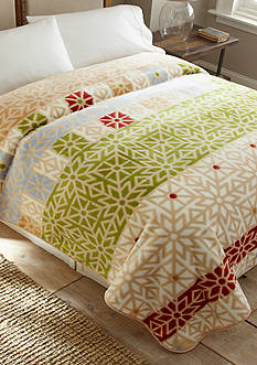 Shavel Hi Pile Luxury Oversize Coverlet