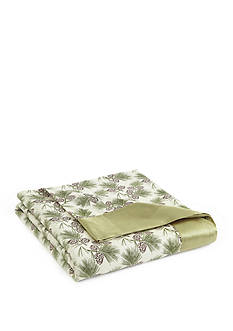 Shavel Micro Flannel(R) Pinecones Twin All Seasons Year Round Sheet Blanket