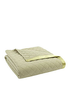 Shavel Micro Flannel Twin Meadow Quilted Blanket