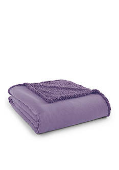 Shavel MICRO FLANNEL TO KING SHERPA AMETHYST BLANKET