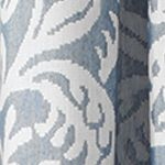 Patterned Curtains: Blue Croscill Bernadette Tailored Window Panel