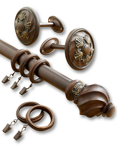 Croscill Basque Decorative Rod and Clip Rings