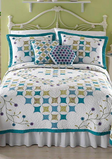 Nostalgia Home Fashions Amanda Quilt Collection - Online Only