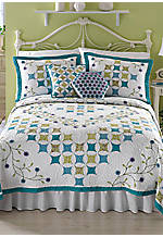 Amanda Multicolored Twin Quilt 68-in. x 86-in.