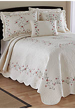 Amber Ivory Queen Bedspread 102-in. x 118-in.