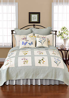 Nostalgia Home Fashions Josephine Quilt Collection