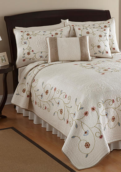 Nostalgia Home Fashions Lake Forest Quilt - Online Only