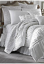 Morning Dove White Full/Queen Comforter 92-in. x 96-in.
