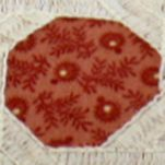 Quilts For Sale: Red Nostalgia Home Fashions FOLK ART STD SHAM
