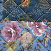 Quilts For Sale: Blue Nostalgia Home Fashions OLIVIA TWIN QLT