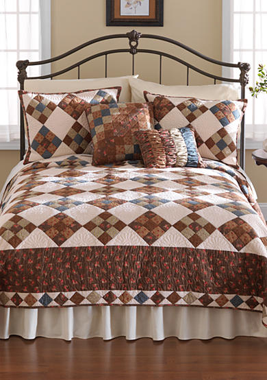 Nostalgia Home Fashions Selina Quilt Collection - Online Only