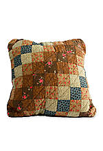 Selina Multicolored Mini Squares Decorative Pillow 18-in. x 18-in.