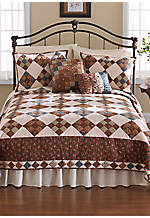 Selina Multicolored Full/Queen Quilt 90-in. x 90-in.