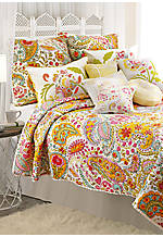 Sun Beam Multicolored Twin Quilt 68-in. x 86-in.
