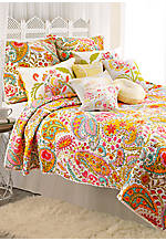 Sun Beam Multicolored Full/Queen Quilt 90-in. x 90-in.