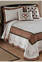 Wellesley Multicolored Twin Bedspread 81-in. x 110-in.