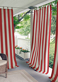 Elrene Highland Stripe Indoor/Outdoor 50x108