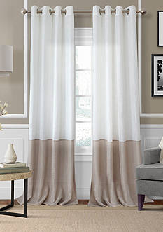 Elrene Melody Sheer Colorblocked Grommet 52x95