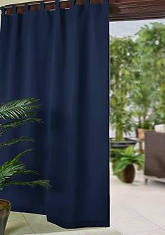 Elrene Matine Indoor/Outdoor 52x95 Window Panel - Blue